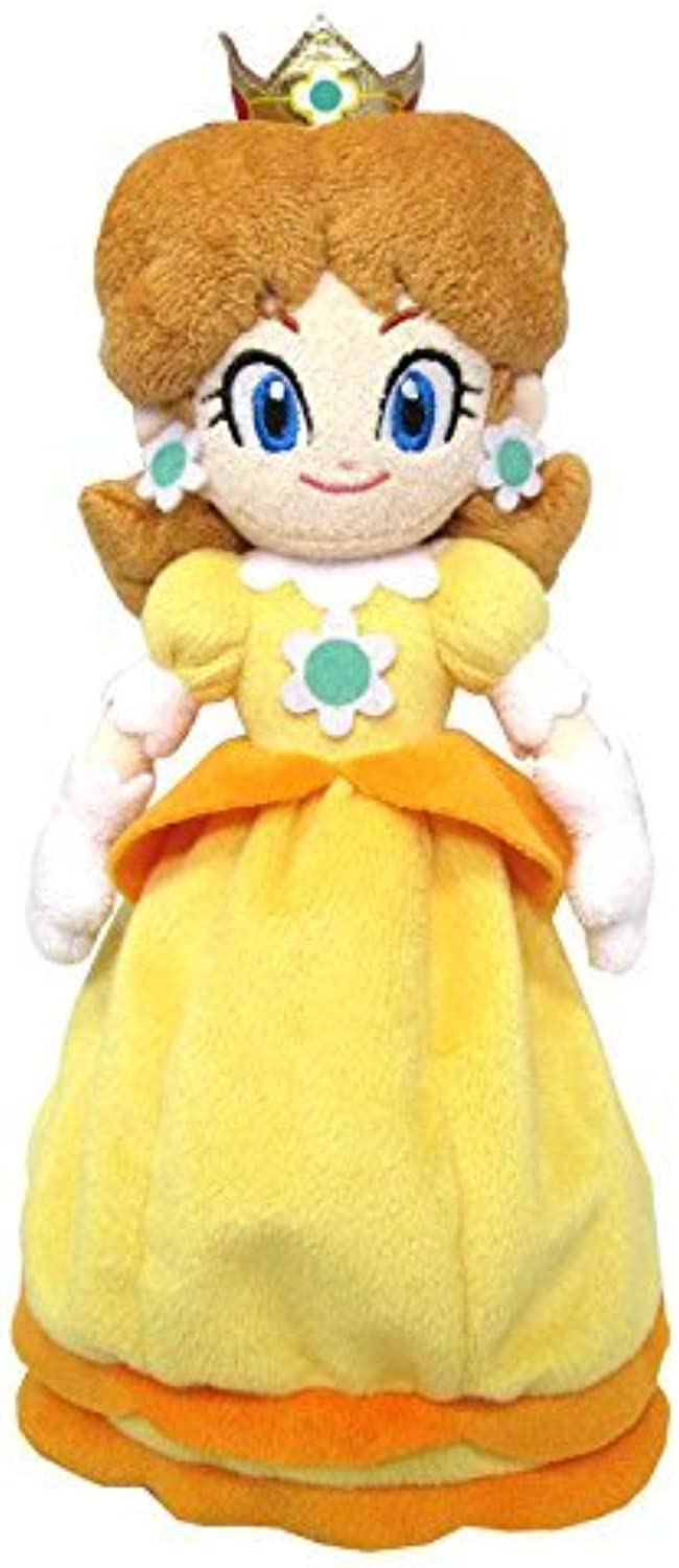 Sanei Super Mario All Star Collection 9.5 Daisy Plush, Small by Sanei