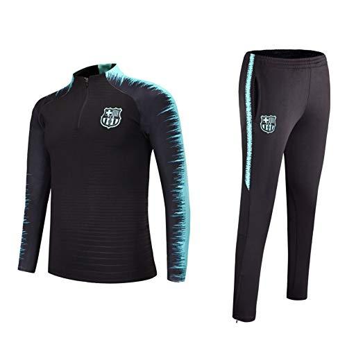 Fußballtraining tragen langärmelige Kleidung Männer Pullover Pullover Anzug Fußballtraining Anzug Spielen, L