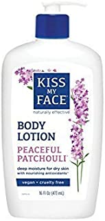 Kiss My Face Ultra Moisturizer Peaceful Patchouli - 16 Fl Oz