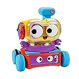 Fisher-Price - Tino Robottino 4 en 1, edición italiana, juguete para niños 6 + meses, HDJ16