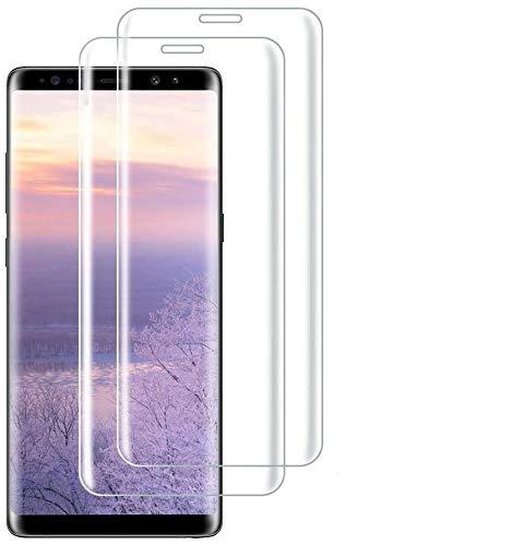 Pellicola protettiva in vetro temperato per Samsung Galaxy S9,3D, copertura completa, durezza 9H, antigraffio, anti-bolle d'aria, perfetta pellicola protettiva per Galaxy S9