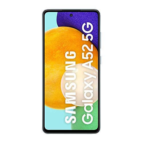 Samsung Galaxy A52 5G Smartphone ohne Vertrag 6.5 Zoll Infinity-O FHD+ Display, 128 GB Speicher, 4.500 mAh Akku und Super-Schnellladefunktion, blau, 30 Monate Herstellergarantie [Exklusiv bei Amazon] - 2