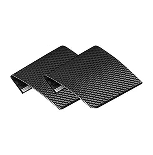 Accesorios Decorativos LHD 3K Real Fibra Carbono Coche Interior Dispositivo Encendido Consola Central Panel Aire Cubierta Pegatina Embellecedor para Mini para Cooper F55 F56 F57 Tira Interior Coche