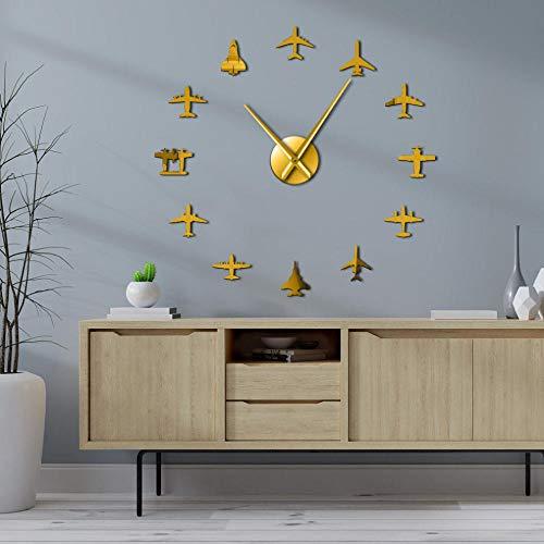 Acctim Woodstock Wall Clock Dark Wood 28316