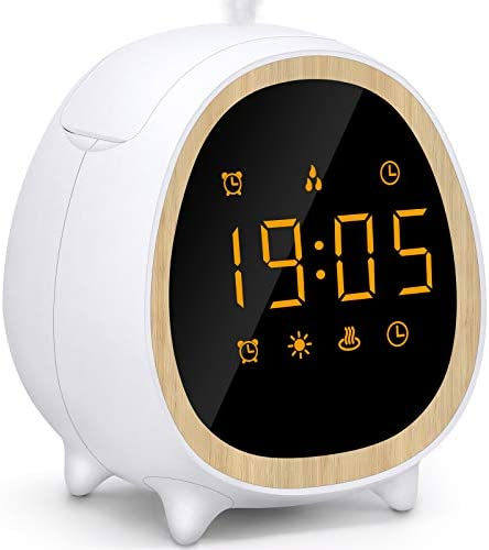 Essential Oil Diffuser Diffuser with Alarm Clock 9 Alarm Ringtone Strong Weak Mist Adjust 3 product image