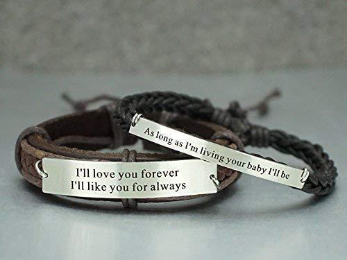 Leather LOVED bracelet