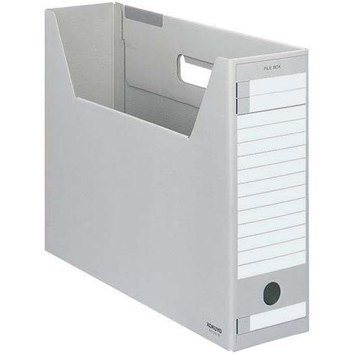 コクヨ ファイルボックス Dタイプ B4横 灰 5個