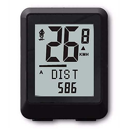 YIQIFEI Computadoras CicloInalámbricas 22 Funciones Impermeable LCD 5 Idiomas Bicicleta Ordenador Odómetro Velocímetro Bicicleta Velocidad (Reloj de Bicicleta)