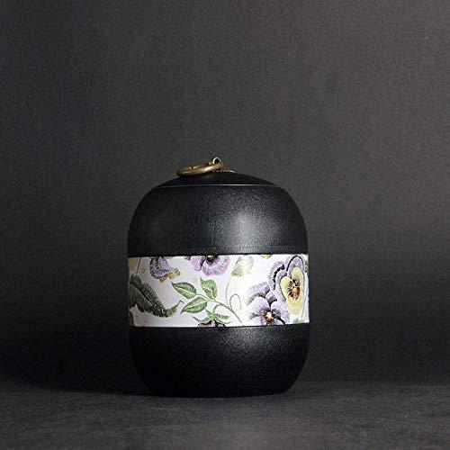 HYY-YY - Urnas de hierro para animales pequeños, cenizas de cremación, colgantes, urna de recuerdo, perro, gato, pájaro, ratón, ataúd para columbario y mascotas
