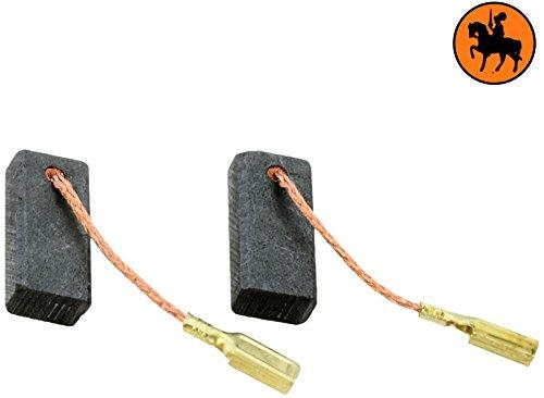 Buildalot universele koolborstels bu_8719468495700 voor Bosch freesmachine POF 500 A, Bosch router POF 500 A, Bosch slijper GGS 27, Bosch slijper GGS 27 L - 5x8x18 mm - 0,20x0,31x0,71'' - Met kabel en stekker - vervanging voor originele onderdelen 2.604.320.908