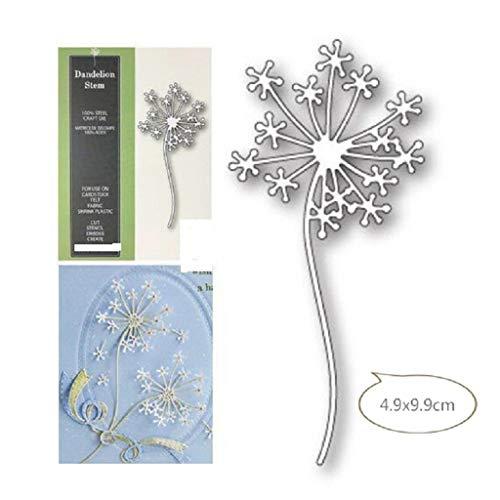 Kalttoy Blumen Scrapbooking Stanzschablone Stanzen Schneiden Schablonen Stanzformen, für Sizzix Big Shot/Cricut Cuttlebug/und andere Stanzmaschine