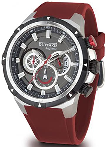 Duward aquastar Monaco Reloj para Hombre Analógico de Automático japonés con Brazalete de Silicona D85532.06