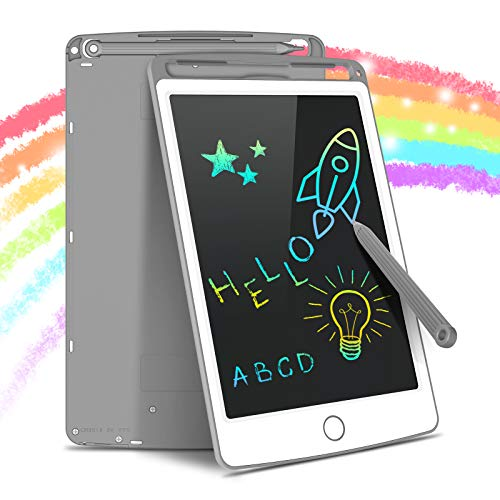 Tecboss LCD Writing Tablet Colorful Screen, Erasable...