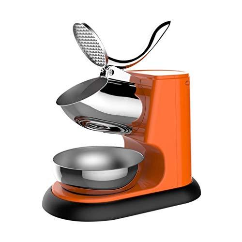 A08High-Power Electric Snow Machine, Máquina de batidos para la tienda de té, Máquina de hielo alta comercial para helados, bebidas frías, postre de fruta y cóctel (color: D) PENG (Color: C) fengong