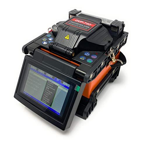 Kit con giuntatrice a fusione, DVP-740, allineamento core, con taglierina per fibra ottica