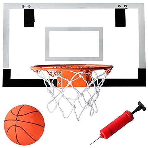 Mini Canasta Baloncesto para Interiores, Juego Aro Baloncesto para Montar Pared, Tablero Portátil para Exteriores, Juegos Juguete para Niños y Adolescentes