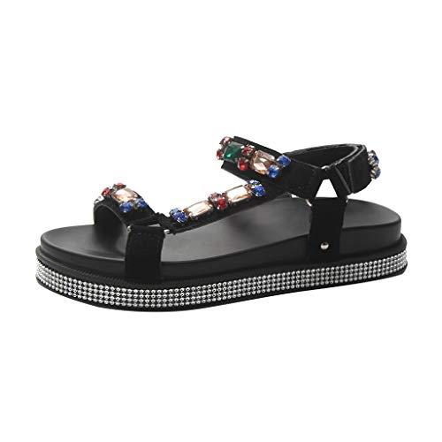 Only Damen Sneaker Low-Top Skater Mokassin Slipper Halbschuhe  Glitzer Look SALE
