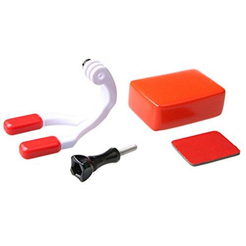 TOOGOO Los accesorios Para Gopro Conjunto de montaje de boca Brazales de surf Conector de surf Para Gopro Hero 6 5 4 3+ para SJ4000 para Xiaomi VP409