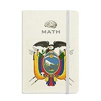 キトエクアドル国章 クラシックノートブッククラシックジャーナル日記A 5