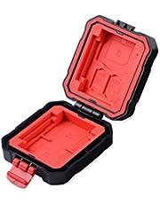 Soporte de la Caja de la Tarjeta de Memoria a Prueba de Agua LXH/LYNCA para 3 Secure Digital (SD), 2 CompactFlash (CF), 2 Micro SD Card/TF, 2 XQD