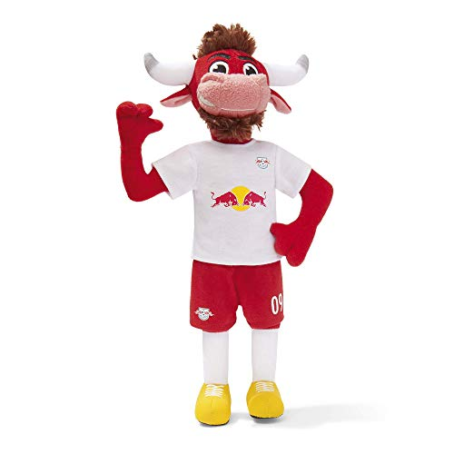 RB Leipzig Puppe, Rot Unisex One Size Toy, RasenBallsport Leipzig Sponsored by Red Bull Original Bekleidung & Merchandise