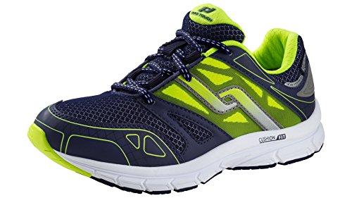 PRO TOUCH Run Chaussures de New York AQX Jr, Navy/NEONGELB