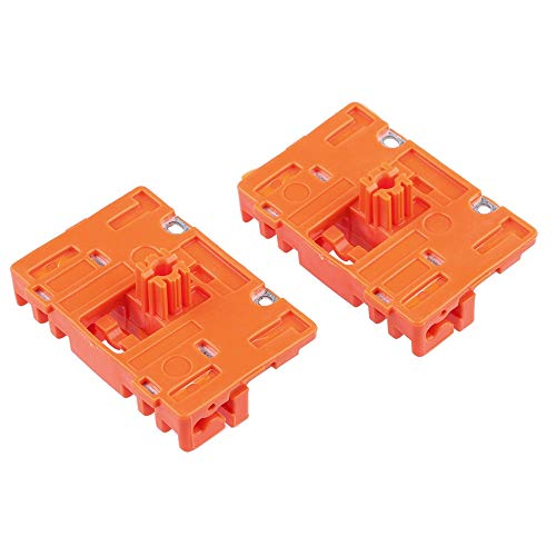 Fastener & Clip 1 Pair for Audi A6 Window Regulator Repair Clips Front Left and Right CS32