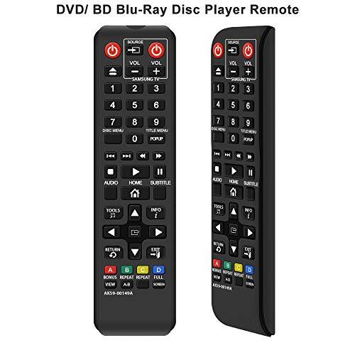 Alkia AK59-00149A Fernbedienung Ersatz für Samsung DVD BD Blu-Ray Disc Player Fernbedienung, anwendbar BDF5100/ZA BD-ES5300 BD-FM51 BD-FM57C BD-H5100 BD-H5900 BD-HM51 BD-HM59