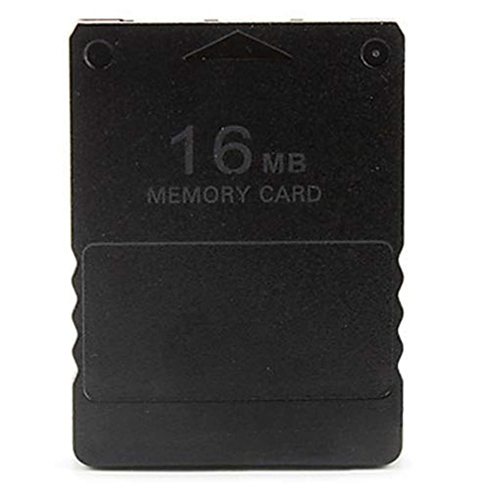 DEH Ps2 Storage Memory Card Memory Card Games Accessories Computer Accessories - Black