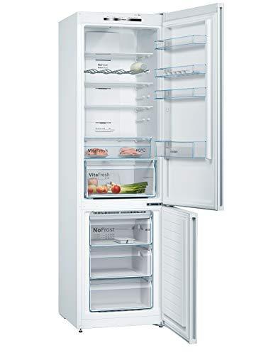 Bosch KGN39VWEAG Serie 4 Freestanding Fridge Freezer with No Frost &...