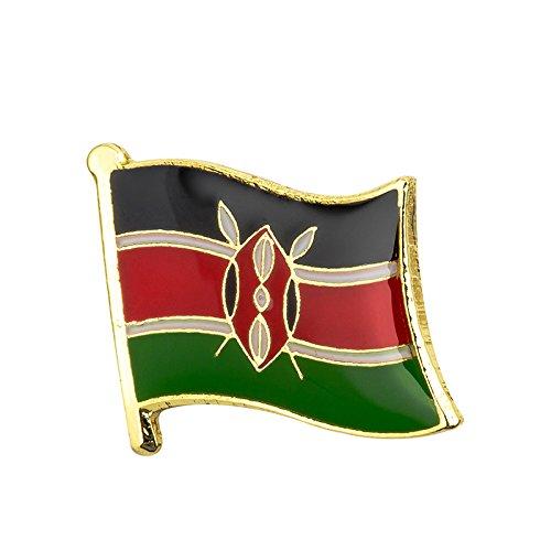 Kenia Keniaanse Vlag Metalen Pin Badge