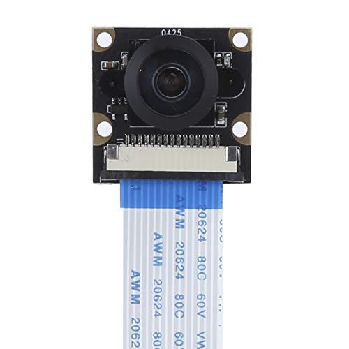 Módulo de cámara Gran Angular Ojo de pez de 160 Grados, con resolución de 3280 x 2464, módulo de cámara de 8 megapíxeles, Soporte de Enfoque Manual, para Sony IMX219(160 Degree)