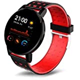 *2 Years Replacement Warranty In All Over India * Smart notifications for sms, calls, whatsapp, and other apps * Multifunctional Smartwatch: Sport health: Pedometer, Calories Calculation, Sedentary Reminder, Sleep Monitoring; Other features: Remote C...