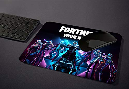Custom Gaming Mouse pad with Your Name