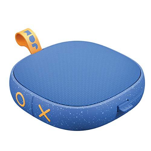 Jam Hang Tight, bluetooth Lautsprecher, auch für die Dusche, 12 Std. Akkulaufzeit, Mikro, wasserdicht, staubdicht, sturzsicher IP67, Mono 5 W Treiber, Aux-In Anschluss, integriertes USB Kabel, blue