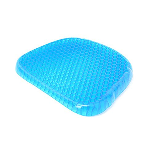 XinYunLD Gel Cushion cushioning breathable support seat Helps With Posture Correction And Ease Hip Pain, Portable Seat Pad For Office, Home, Car, Wheelchair Seat Cushion With Washable Cover