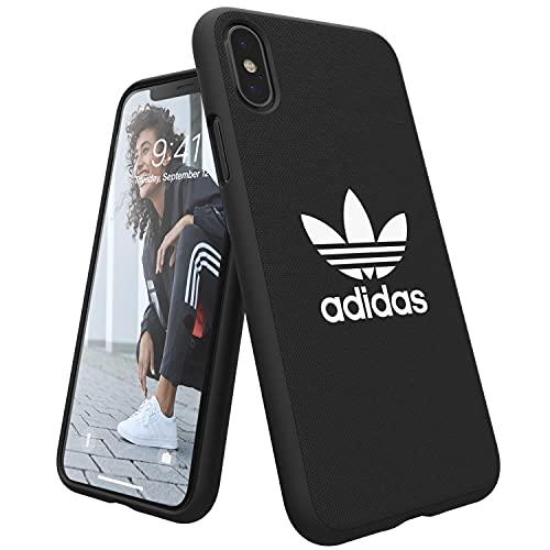 Adidas 29948Originals Adicolor Stampato Custodia Cover per Apple iPhone/X,Nero