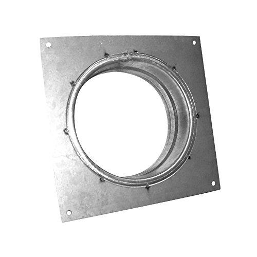 Flange carrée en métal 250mm