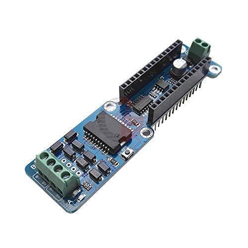 2A L298P Dual Full Bridge DC Stepper Motor Driver Module 5V-12V TTL Logic Level Relay Solenoid Motor Drive for Arduino Nano 3.0