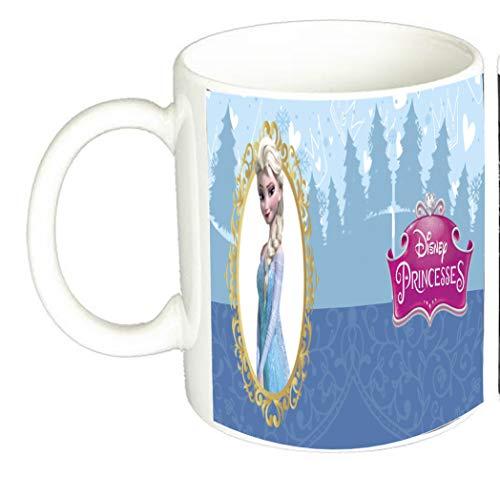 Taza princesa Elsa Disney