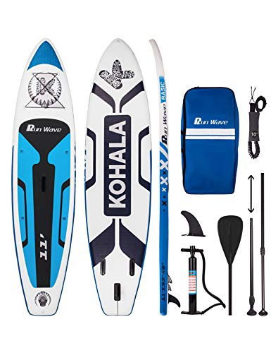 Runwave Inflatable Stand Up Paddle Board 11'×33''×6''(6''...