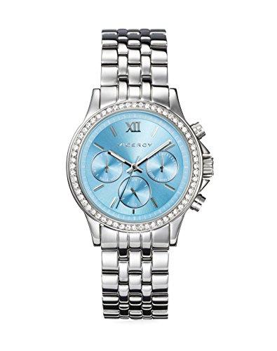 Reloj Viceroy Mujer 432270-33 Acero Multifunción Esfera Azul