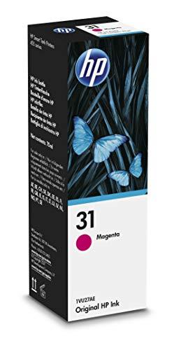 HP 31 1VU27AE, Magenta, Botella de Tinta Original, compatible con impresoras HP Smart Tank series 400, 500, 600