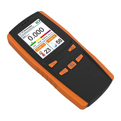 Gazechimp Monitor de Calidad del Aire del Analizador de Ozono de Ozono O3 Portátil, Detección