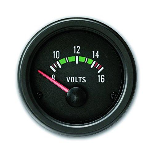 JOM 21120V Zusatzinstrument, Youngtimer, Volt, schwarz, Ø52mm