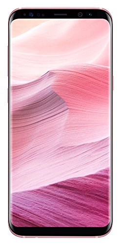 Samsung Galaxy S8+ Smartphone da 256 GB, Rosa [Versione Francese]