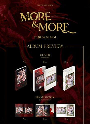 JYP Twice - More & More (9th Mini Album) Album+Extra Photocards Set (Random ver.)  