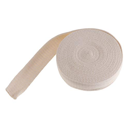 Supvox Schlauchverband Netzverband Netzschlauchverband Fixierbinde Hoch Elastischer Verband Binde Tape Bandage für Männer Erwachsene (Beige)