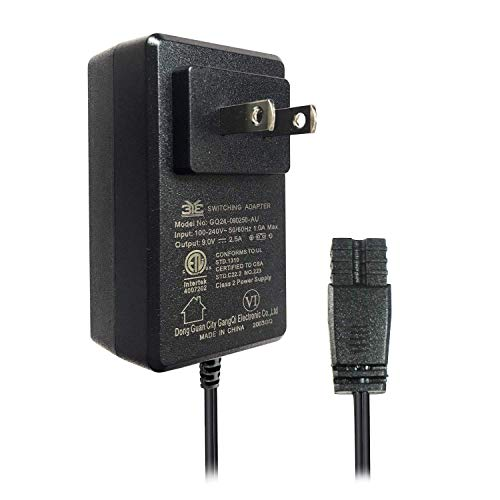 Pro Breeze Mini Dehumidifier PB-02 Power Adapter - Black, 2-Pin Adaptor for Old Model