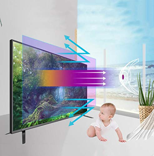 """Protector de pantalla de TV Anti filtro de luz azul, Protector de pantalla ultra claro Anti Scratch Anti Glare Aliviar la tensión del ojo Película protectora de monitor para 32-75"""",65"""" 1429X804mm"""